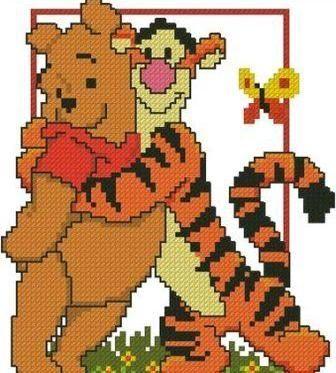 Тигра и Винни Пух